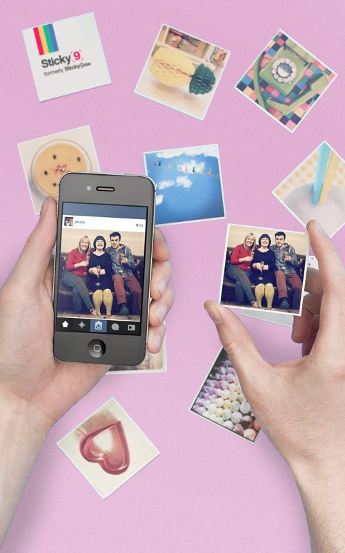 Sticky9 turn your Instagrams into cute little magnets! Spring sale now on.
