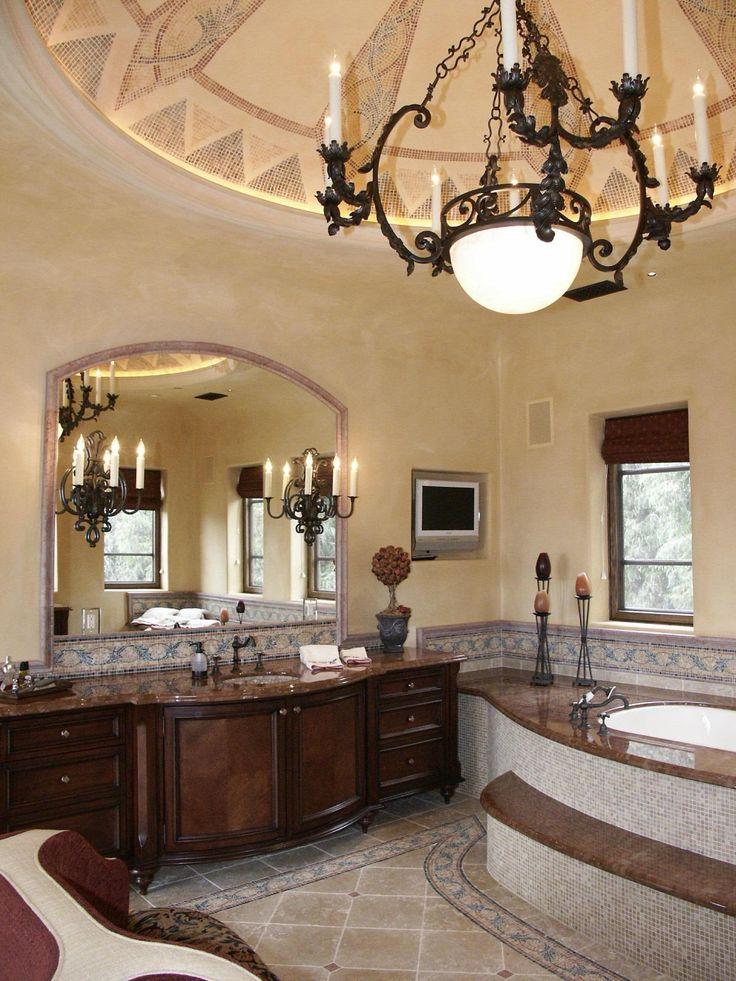 Best 25+ Tuscan bathroom decor ideas on Pinterest | Tuscan decor, Tuscan bathroom and ...