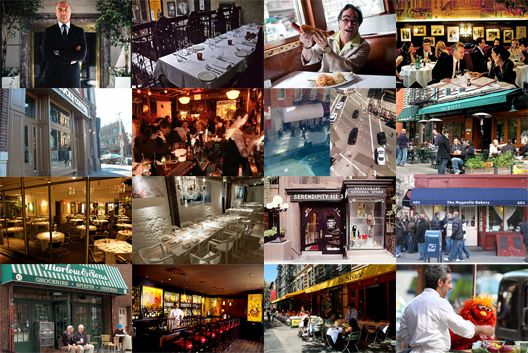15 New York Restaurants Where You Can See Celebrities - Celeb Stalking - Eater NY