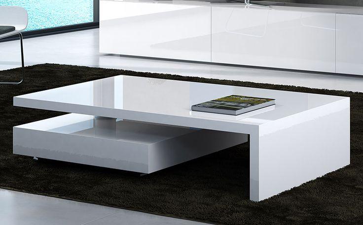 Mesa de Centro Moderna Giro   Material: DM Densidad Media   Mueble realizado en DM lacado, los elementos inferiores tienen movilidad de 360 permitiendo diferentes combinacionesExiste la posibilidad de realizar el mueble en diferente color de acabado, ver imagenes de galeria... Desde Eur:869 / $1155.77