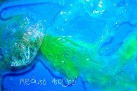 hacer una medusa viscosa