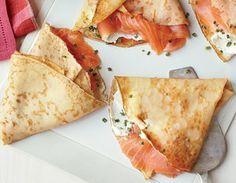 smoked salmon crepes | best stuff