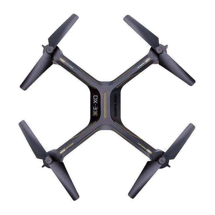 Sharper Image DX-3 14.4-Inch Video Drone, Multicolor