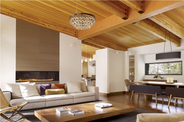 Living Room Designed by John Maniscalco Architecture