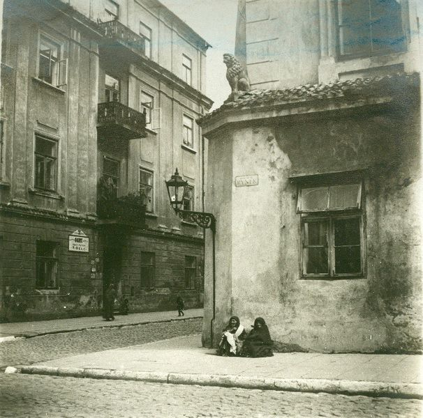 Lublin old town, 1930