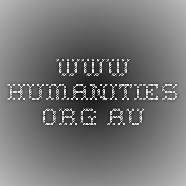 www.humanities.org.au