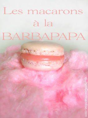 Macarons à la Barbe à Papa