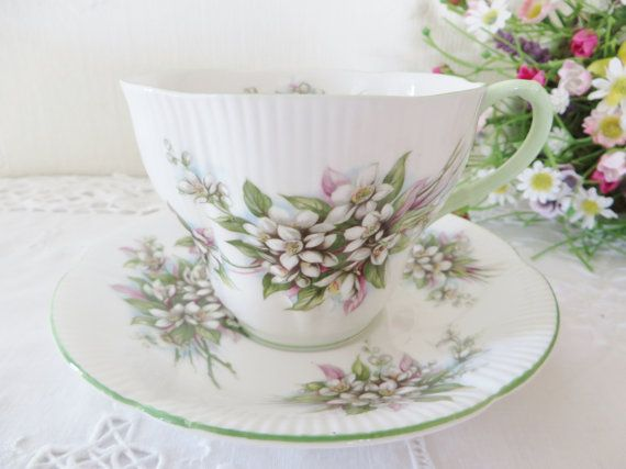 Royal Albert vintage 1960's teacup and by MaddyVintageHostess