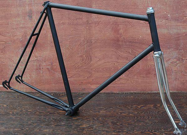 Lux Low Fixie Frame Shop: Vintage Lugged Steel Road Bike Frames