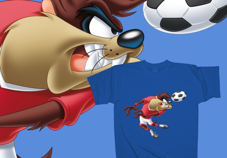 Taz - My ball!  http://www.toonshirts.com/products/looney-tunes/138-taz-my-ball