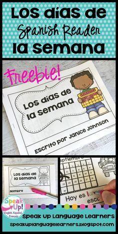 *FREEBIE* ~ Spanish Days of the Week Readers {Los días de la semana}