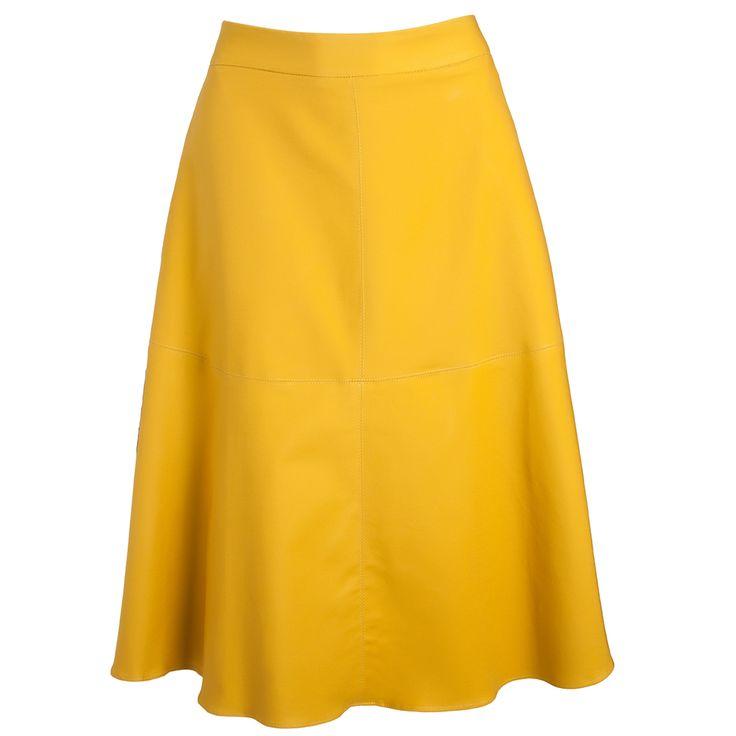 CAVENDISH - Saia mdi Cavendish evasê - amarela