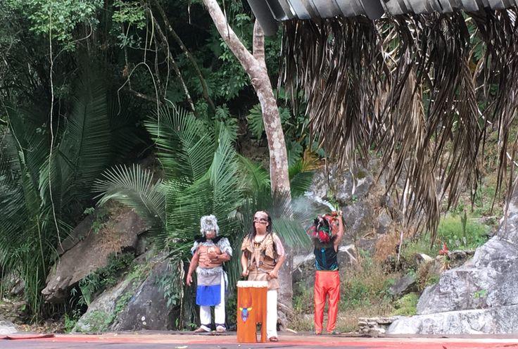 Smudging ritual performed at El Tuito, near Villa del Palmar Puerto Vallarta