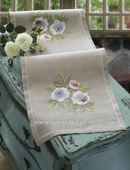 Shop online for Roses 30 x 95cm Embroidery Table Runner Kit at sewandso.co.uk. Browse our great range of cross stitch and needlecraft products, in stock, with great prices and fast delivery.