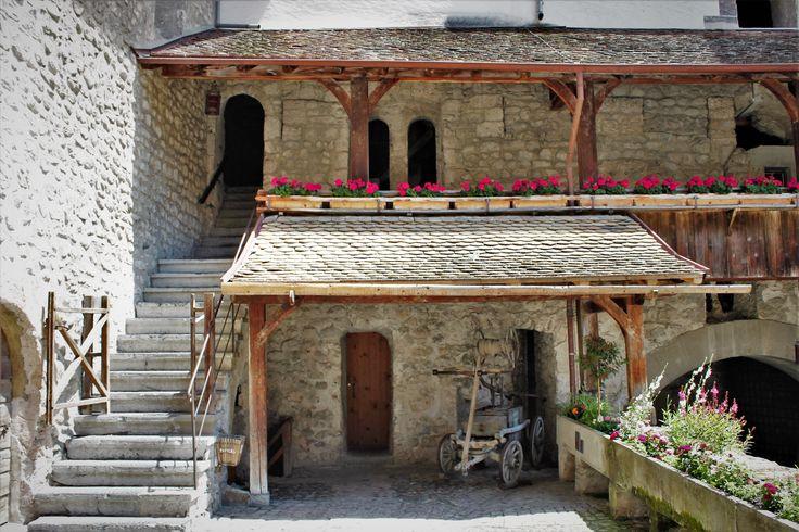 Castle Chillon, Switzerland.