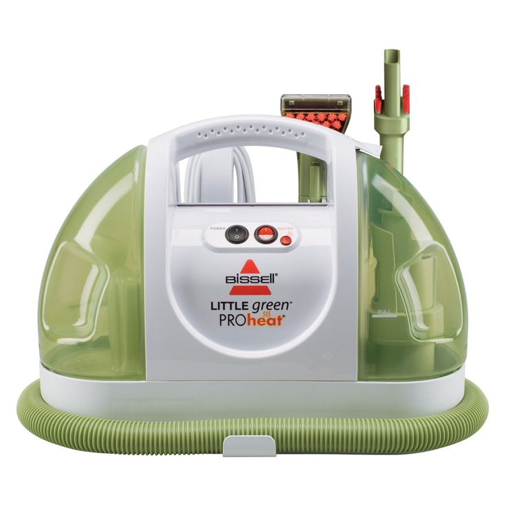 Bissell Little Green ProHeat Portable Hand Held Carpet Cleaner 14257. This has saved my life.