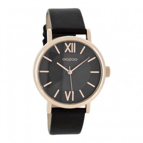 OOZOO Timepieces Zwart horloge C8324 (38 mm) - Horloges