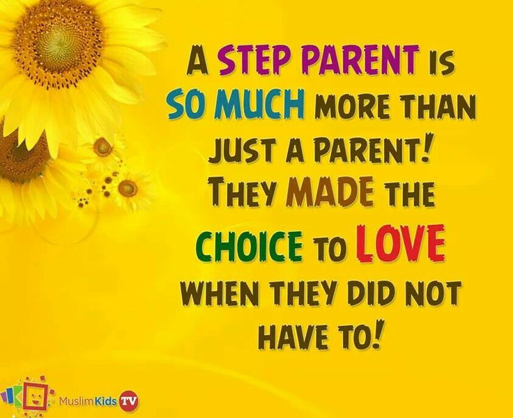 in a relationship and being step parent quotes