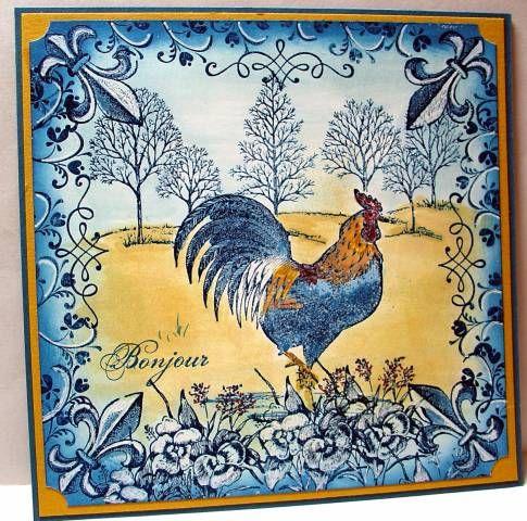 my french rooster diy pinterest franz sisch fotos und h hne. Black Bedroom Furniture Sets. Home Design Ideas