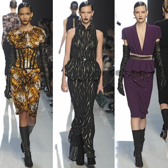 Bottega Veneta Fall 2012  - www.fabsugar.com: 2012 Collection, Bottega Veneta, Fall 2012Peplumpop, Veneta Case, Sleek Suits, 2012 Fashion, Highlights Sleek, Fashion Trends, 2012 Trends
