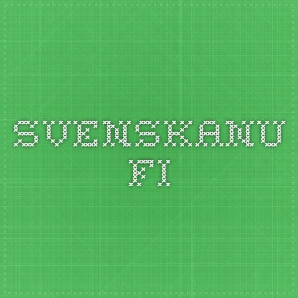 Sivustoja (kuvauksineen) hauskaan ruotsin opiskeluun