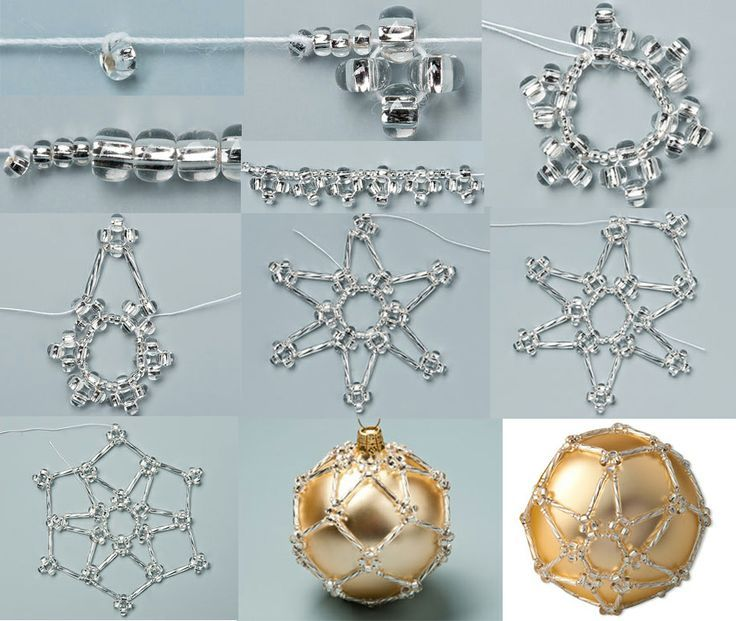 634 best baubles images on pinterest christmas crafts christmas beaded bauble solutioingenieria Images