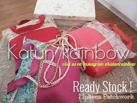 Mukena Patchwork - Ready Stock. Come & order while they're extant. ❇  Visit Our Instagram @katunrainbow  Order +6289660522330 (WhatsApp)  Jakarta, Indonesia.  Keywords: mukena , cotton lace , cotton cloth , katun jepang , vintage , shabbychic, prayer robe