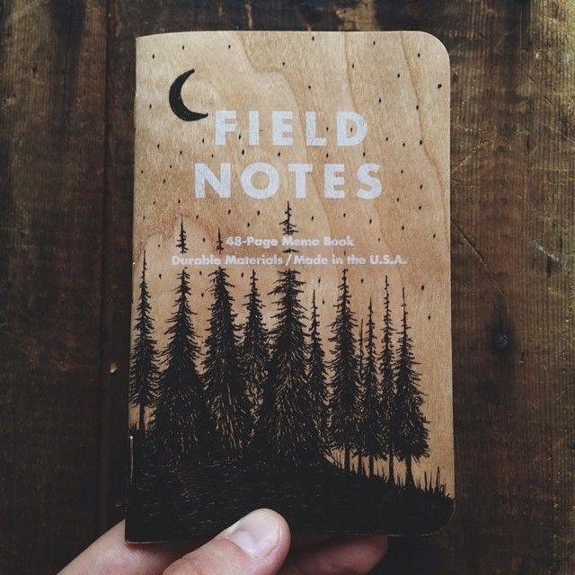 steelbison:  Always drawing on covers. #FieldNotesBrand