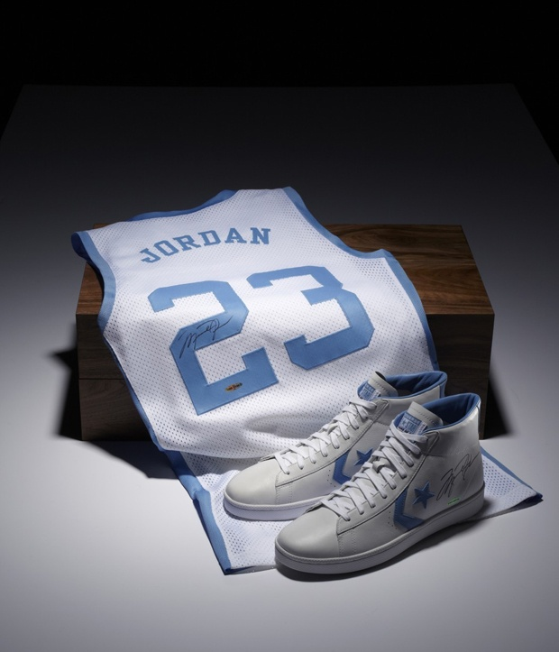 30 years ago, Michael Jordan stepped onto the biggest stage in college  basketball in the Converse Pro Leather. The sneakers are timeless alone, ...