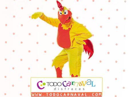 Fantastico #disfraz para #carnaval de #pollo para adultos. Disponible en talla de hombre y mujer . #disfraces www.todocarnaval.com