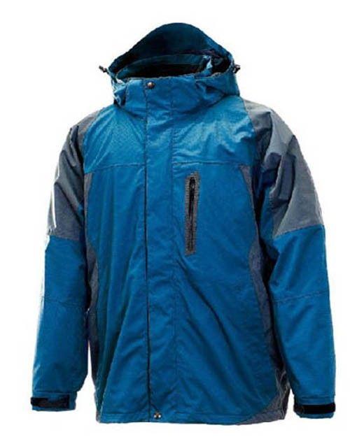 Outdoor Sport Zipper Hooded Long Sleeve Waterproof Men Jackets  Price: $174.93 USD