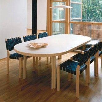 Alvar Aalto Extension Table H98