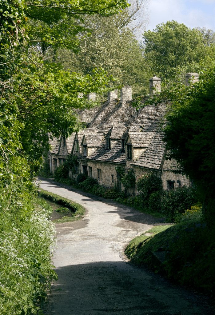 I imagine the village of Buckley to look a little bit like this:  Arlington Row, Bibury, Gloucestershire, England by Forgotten Heritage Photography