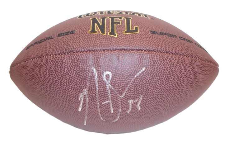 NaVorro Bowman Autographed NFL Wilson Composite Football, Proof Photo. NaVorro Bowman Signed NFL Football, San Francisco 49ers, Penn State Nittany Lions, Proof  This is a brand-new NaVorro Bowman autographed NFL Wilson composite football.  NaVorro signed the football in silver paint pen. Check out the photo of NaVorro signing for us. ** Proof photo is included for free with purchase. Please click on images to enlarge. Please browse our website for additional NFL & NCAA…