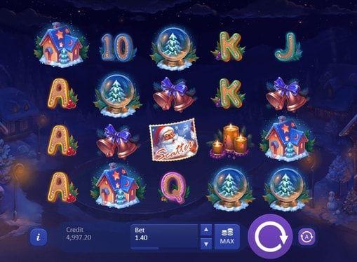 Игровой автомат Christmas Eve онлайн на деньги  Christmas Eve – игровой автомат на реальные деньги о Рождестве от компании Playson. Этот онлайн аппарат объединяет в себе красивую графическую составляющую и прибыльную бонусную систему, значительно увеличивающую шансы на выиг