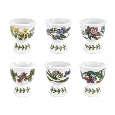 Portmeirion Botanic Garden Egg Cups Set of 6 -Portmeirion UK