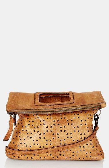 Topshop Perforated Leather Crossbody Bag 59