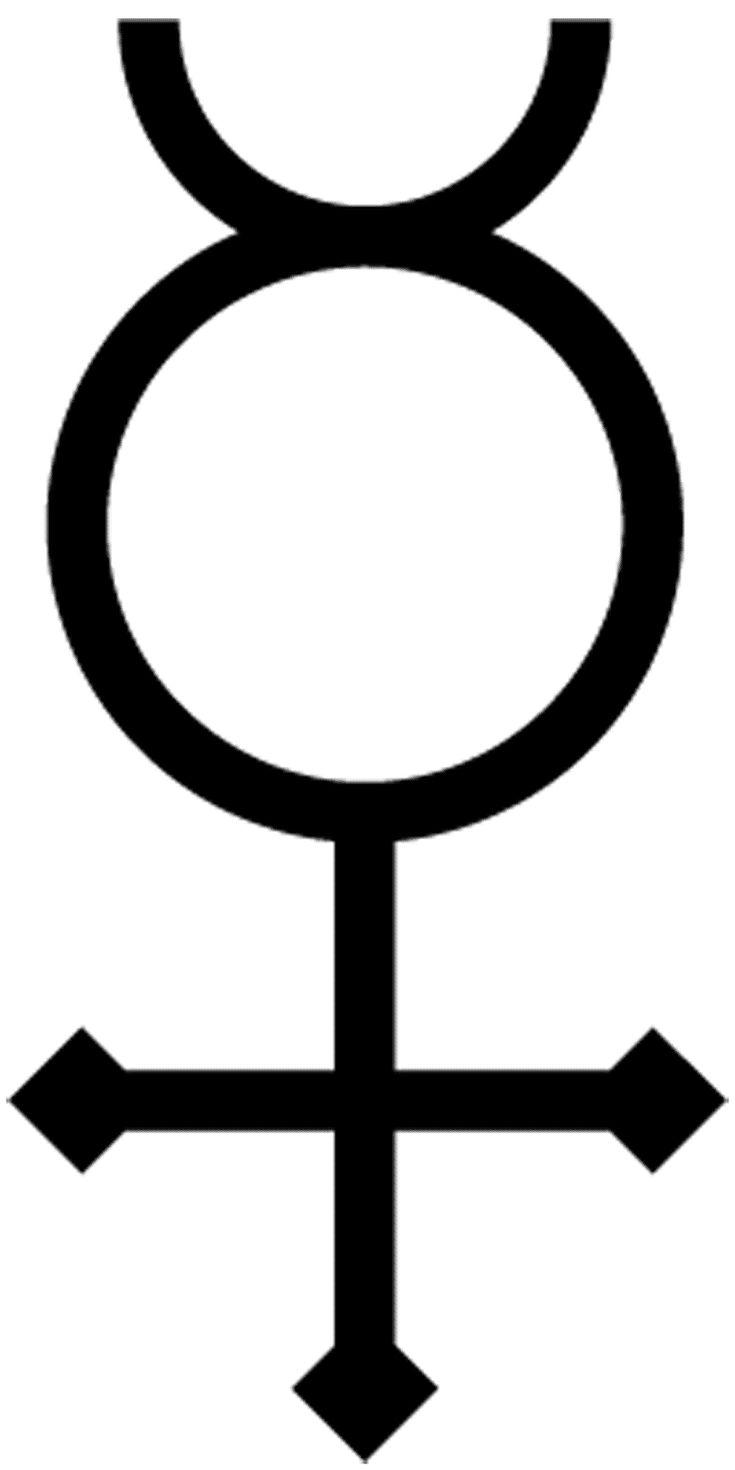 Alchemy Symbols and Meanings: Mercury Alchemy Symbol