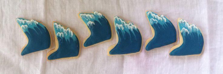 Huge waves cookie