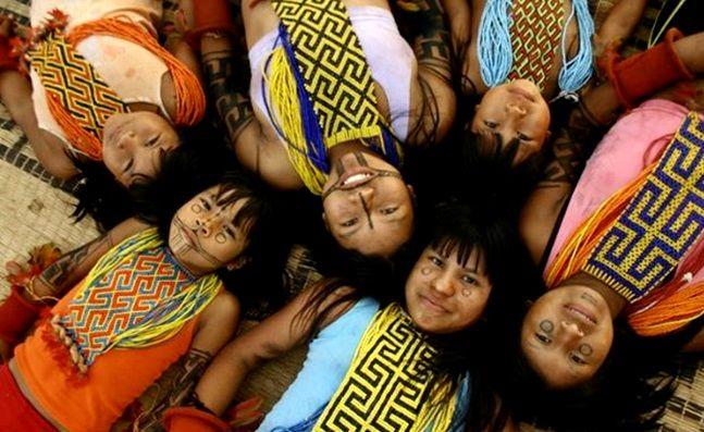 A antropóloga e demógrafa Marta Maria Azevedo estima que, na época da chegada dos europeus, a população indígena no Brasil era de 3 milhões de pessoas. Eram mais de 1.000 povos diferentes, que durante séculos foram exterminados pelos conquistadores, seja por suas armas de fogo, seja pelas doenças que eles trouxeram. De acordo com antropóloga, em 1957 havia no Brasil apenas 70 mil indígenas. O crescimento desta população é observado somente a partir da década de 1980.
