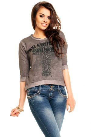 Bluzeczka311A c.szara