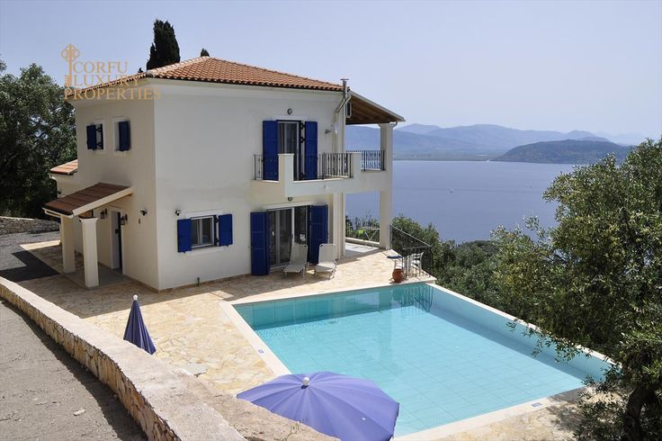 Sea view villa for sale in Kentroma, North East Corfu From: http://corfuluxuryproperties.com/property/sea-view-villa-for-sale-with-swimming-pool-in-kentroma-north-east-corfu