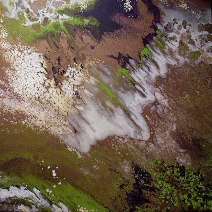 100x100cm acrylic painting