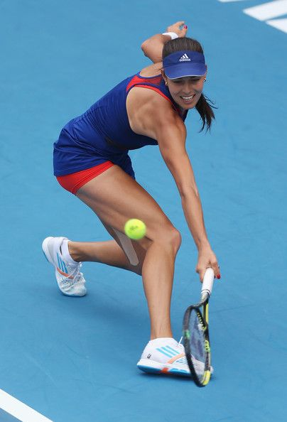Ana Ivanovic during ASB Classic finals