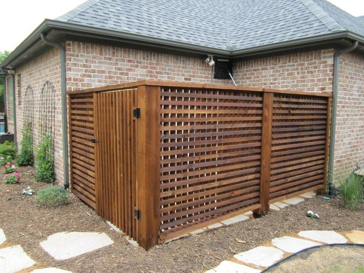 Air And Pool Equip Enclosure