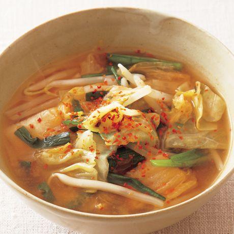 キムチスープ | 市瀬悦子さんのスープの料理レシピ | プロの簡単料理レシピはレタスクラブニュース