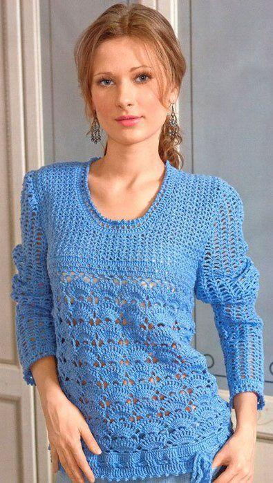 Голубой пуловер. Обсуждение на LiveInternet - Российский Сервис Онлайн-Дневников