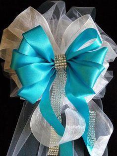 Conjunto de boda 10 arcos de Satén de cualquier Color y lazos