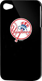 ONLY 99 cents on Clearance New York Yankees Hard Shell Case for Apple iPhone 4 - Black.