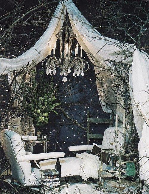 Make your porch a Winter Wonder Land